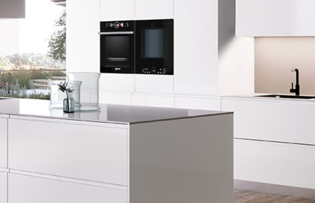 cocina blanca-beige-negro